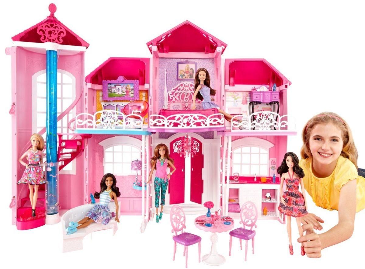 comment fabriquer une maison de barbie. Black Bedroom Furniture Sets. Home Design Ideas